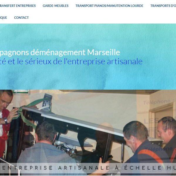 Site les Compagnons déménagements Marseille (Bouches du Rhône 13)