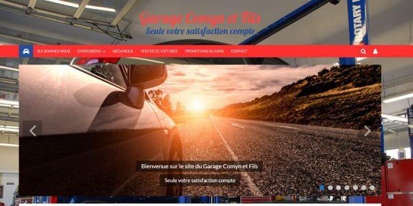 Site Garage-Carrosserie Comyn et Fils (60370) – Hauts de France