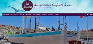 Site réalisé par Célinform@tique le Restaurant «Les Mouettes» à Marseille