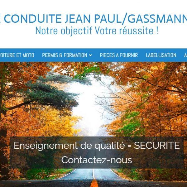 Site Auto Ecole de Conduite Zanetti