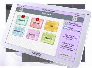 Célinform@tique Partenaire de Facilotab… la tablette facile d'utilisation pour seniors