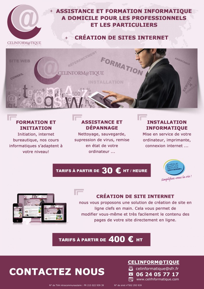 flyer rose celinformatiue