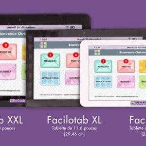 Tablette facilotab partenaire avec Célifnformatique
