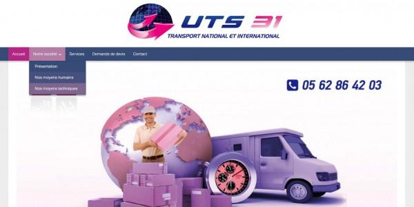 Site de transport national et international