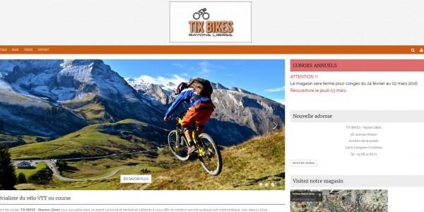Le spécialiste du vélo VTT ou course