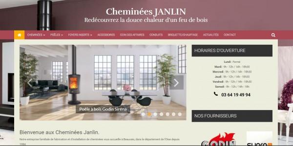 Cheminées Janlin dans l'Oise