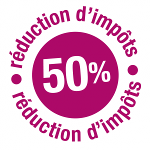 50 % réduction d'impôts