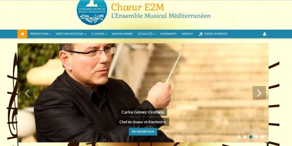 site de chorale – Choeur E2M à Marseille