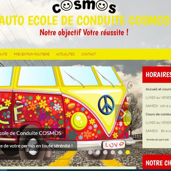 Site Auto Ecole de Conduite Cosmos Marseille (13006) – Bouches du Rhône