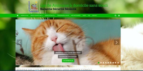 Site de Garde d'animaux à domicile sans souci dans toute la France