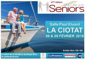 Salon des Seniors à la Ciotat le 8 et 9 février 2018