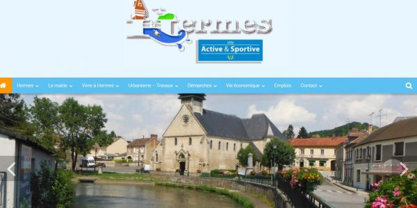 Bienvenue sur le sitedela mairie de Hermes en Picardie (Haute de France)