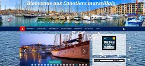 """Site réalisé par Célinform@tique – Les Canotiers Marseillais"""" (13002)"""