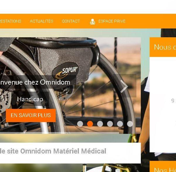 Site réalisé par Célinform@tique – «Omnidom – matériel médical/pompe à insuline «