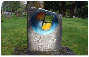Votre PC Windows 7 ne sera plus en sécurité à partir de 2020 .