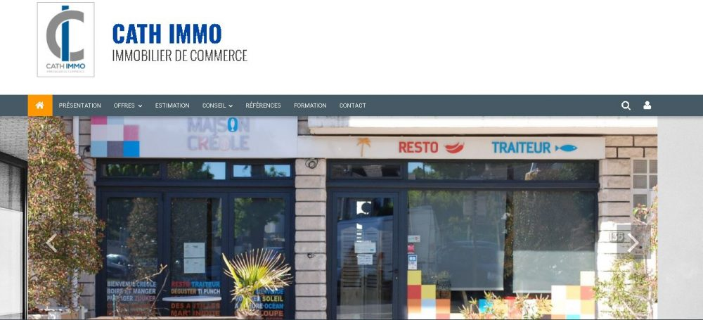Cathimo immobilier commercial