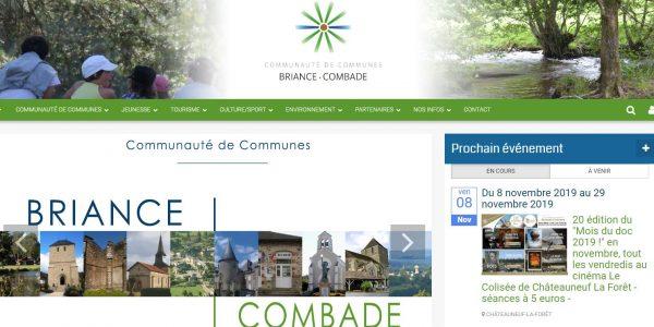 Site de communauté de commune