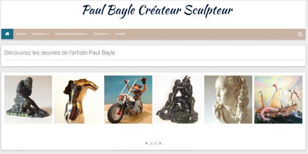 Site créateur sculpteur