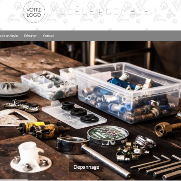 Modèle Plombier/ Artisan – Promouvoir ses services avec un site Internet