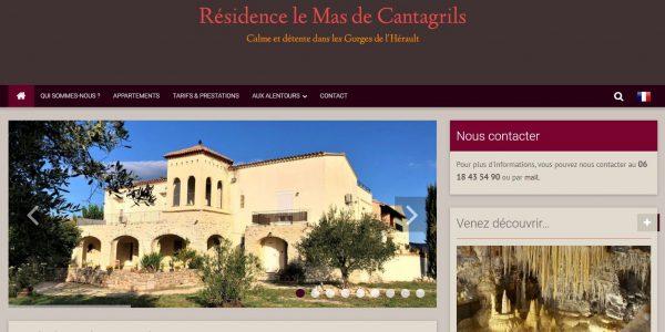Résidence le Mas deCantigrils