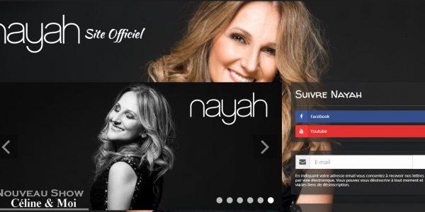 Site artiste chanteuse
