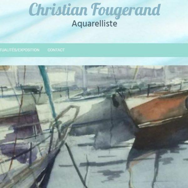 Site réalisé par Célinform@tique «Fougerand-aquarelliste»