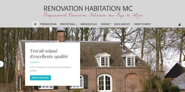 Site de RENOVATION HABITATION