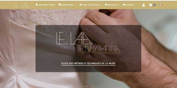 Site pour Ecole des Métiers et Technique de la Mode